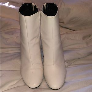 Target white boots